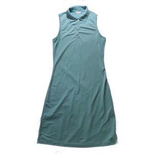 Tahari nylon/spandex dress baby blue XS